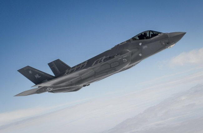 The F-35 Joint Stike Fighter is the most expensive jet ever built. (Department of Defense)