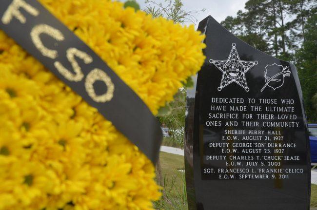 flagler sheriff monument