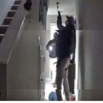 FDLE agents, guns drawn, at Rebekah Jones's home this morning, according to a video clip she posted on her Twitter feed.
