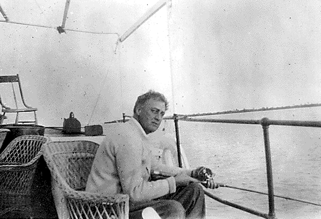 FDR in Florida in 1926. (FDR Library)