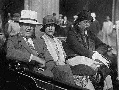 FDR, Lucy Mercer and Eleanor Roosevelt