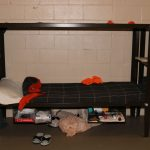 Anthony Fennick's bunk at the Flagler County jail in February 2019. He was 23 when he died shortly after being taken to the emergency room. (FCSO)