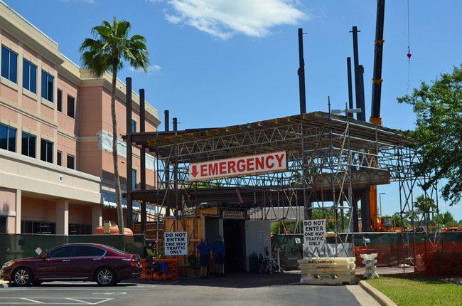 florida hospital flagler construction