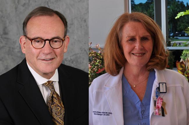 Dr. Ronald Thomas, left, and Lauretta Kiniery. (FHF)