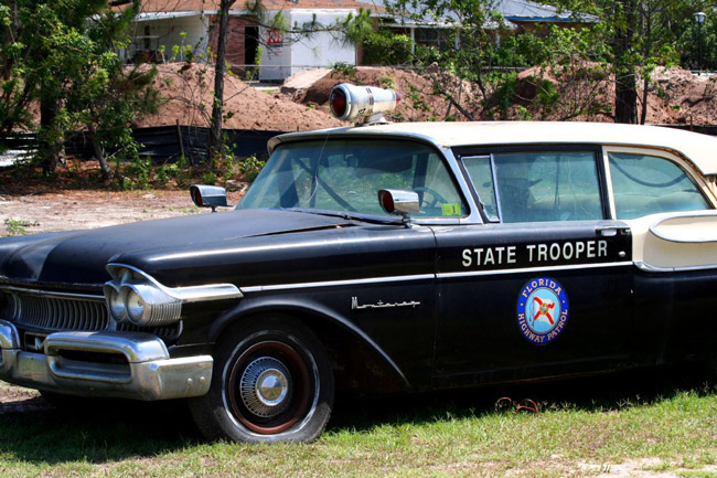 Classic Florida Highway Patrol Car - YouTube