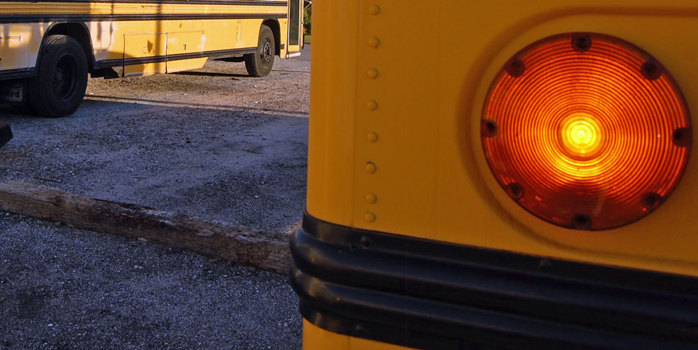 it will increase from $100 to $200 the minimum penalty for motorists who fail to stop for school buses and will double from $200 to $400 the minimum penalty for motorists who pass stopped school buses on the side where children enter and exit.
