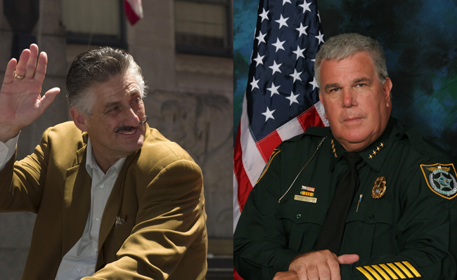rollie fingers and flagler county sheriff don fleming