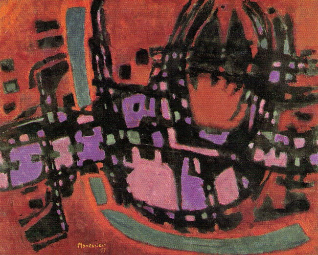 Alfred Manessier's 'Fire' (1957).