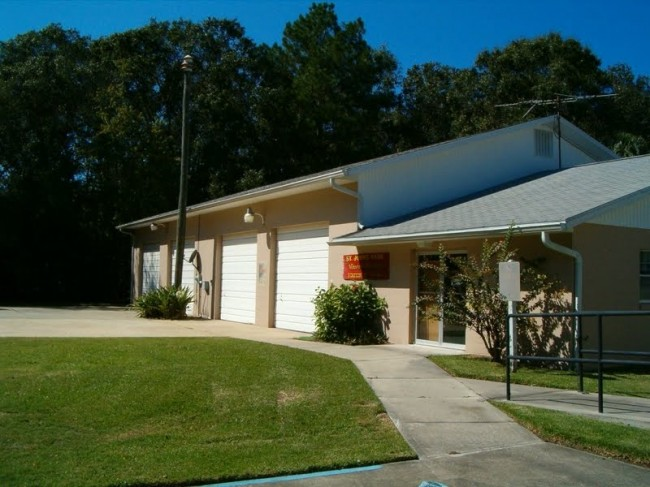 The west-side volunteer fire station is currently unstaffed.  Flagler  County officials are talking about renovating it and redeploying staff to as a way to improve response times on the west side (Tanya Snyder)