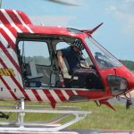 Replacing Fire Flight, the county's emergency helicopter, is among the fire department's future plans. (© FlaglerLive)