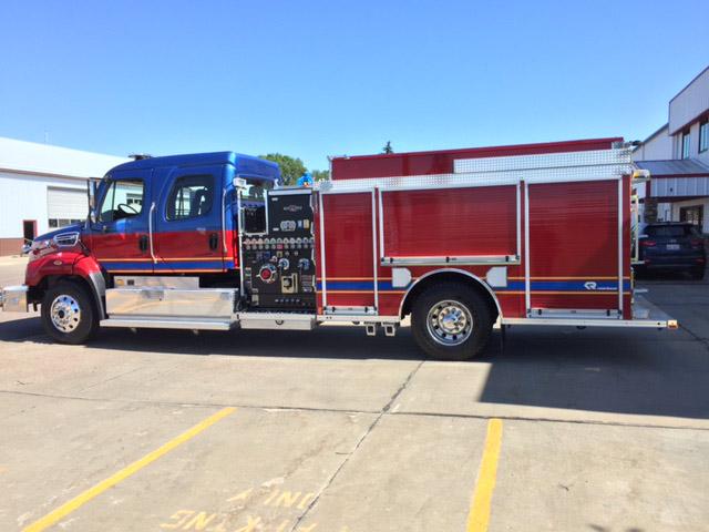 palm coast fire trucks