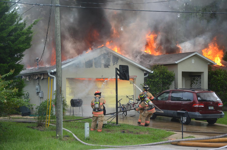Panama City Beach House Fire