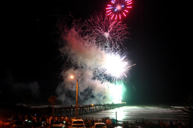 flagler beach fireworks back on