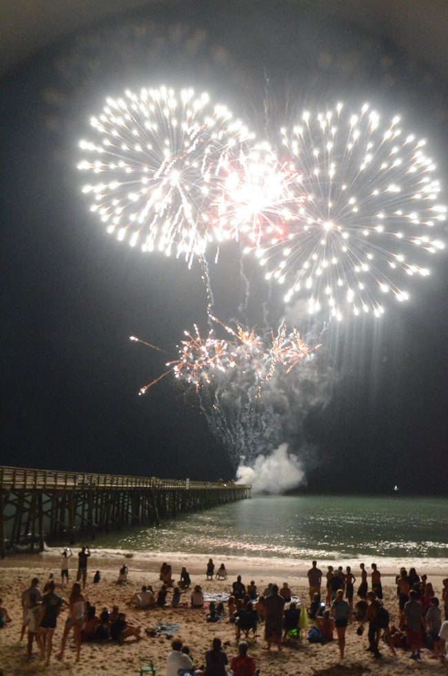 Flagler Beach Fireworks and Parade Schedule on July 4, 2019
