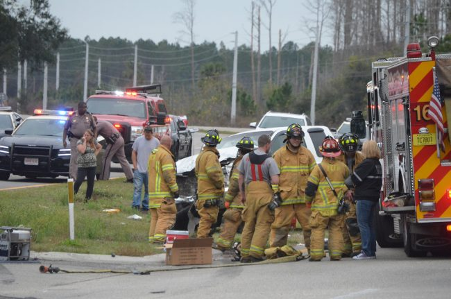 five fatalities us1 crash palm coast