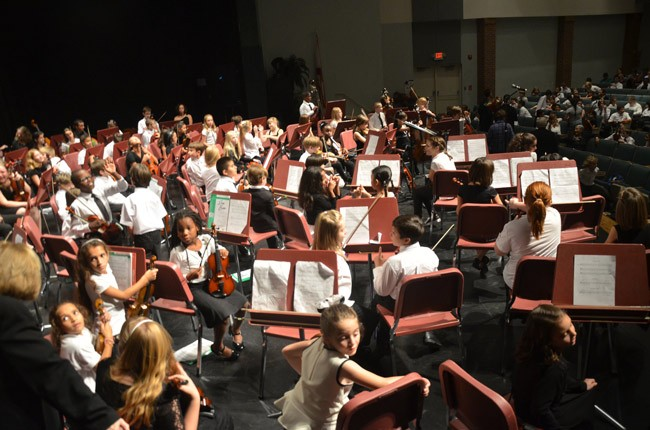 flagler youth orchestra concert