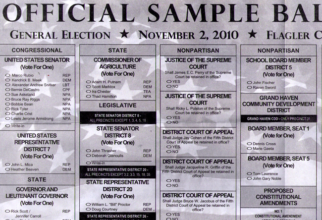 sample ballot flagler county