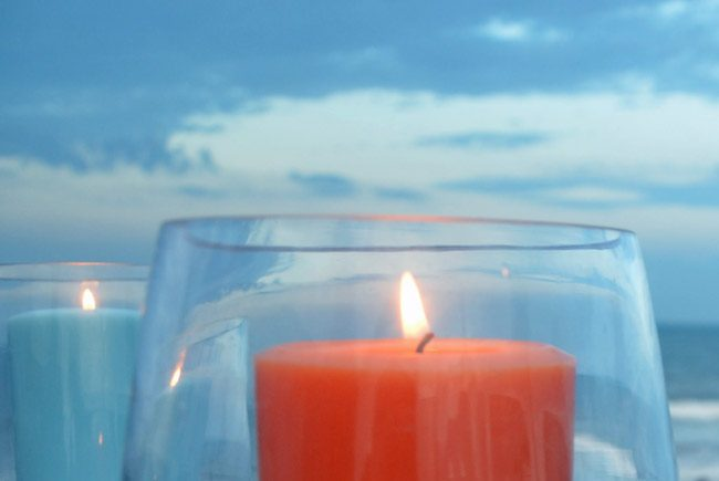 Compassionate Friends parents in mourning candle lighting