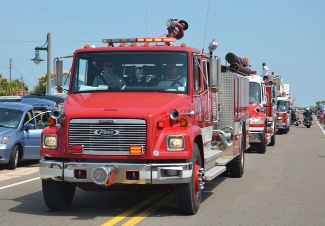 Controversy is again swirling over the Flagler Beach Fire Department. (© FlaglerLive)