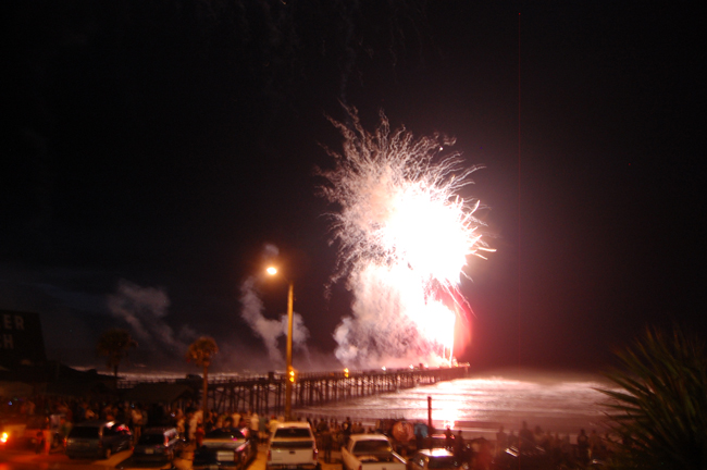 flagler beach fireworks palm coast july 4th independence day 2011