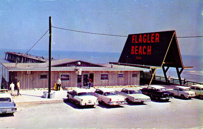 flagler beach pier State Archives of Florida, Florida Memory