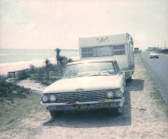 A picture from when the author first visited Flagler Beach, in 1966. click on the image for larger view. (Rick Belhumeur)