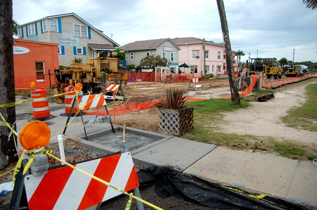 flagler beach street construction