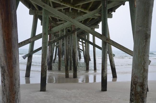 flagler beach pier pilons