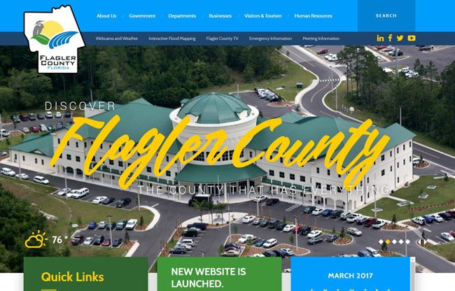 flagler county government website