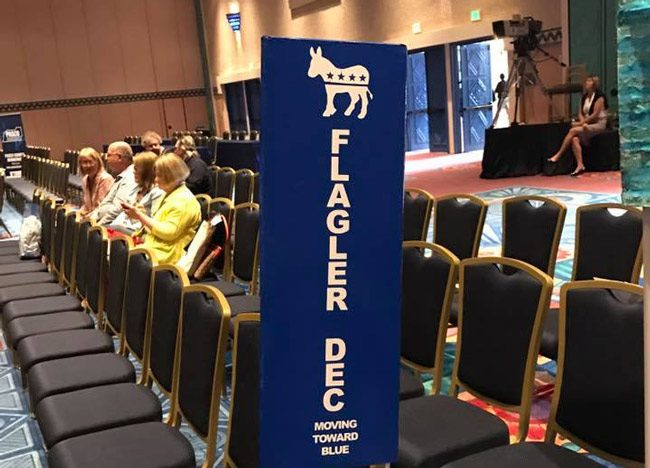 Flagler's spot at the state conference this weekend in Orlando. (Facebook)