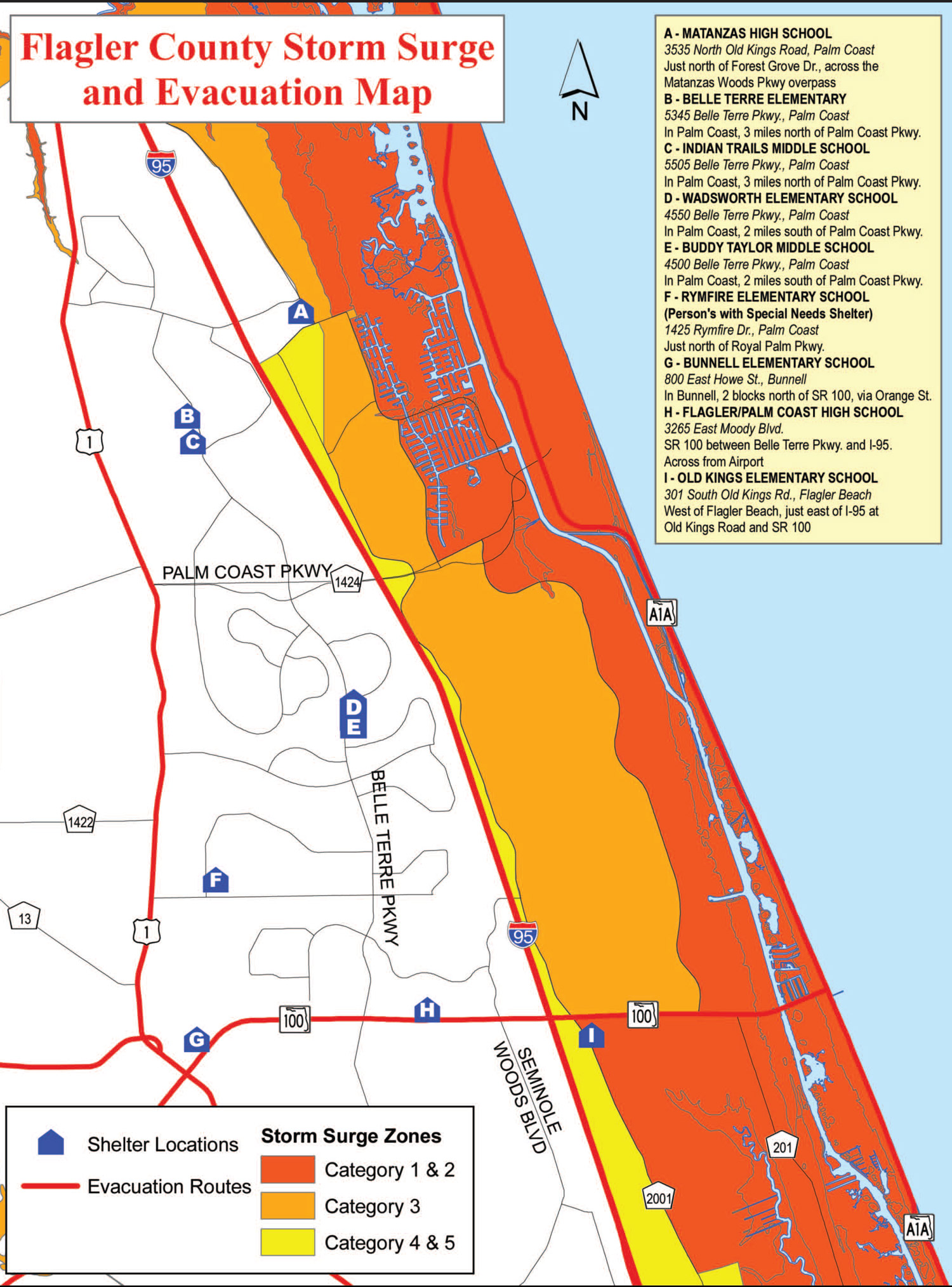 Flagler Beach Fl County