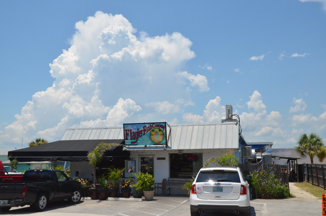 flagler fish company 39 s pet friendly patio expands outdoor