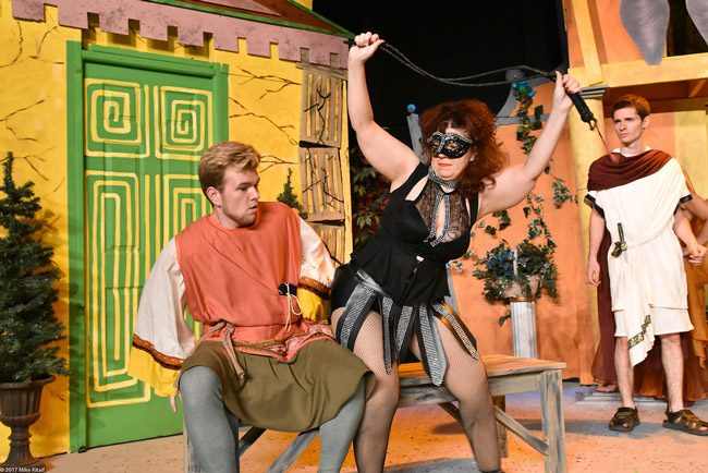 'A Funny Thing Happened On the Way to the Forum,' the musical by by Stephen Sondheim, Burt Shevelove and Larry Gelbart opens Friday evening at the Flagler Playhouse for a three-weekend engagement. See below. (Flagler Playhouse)