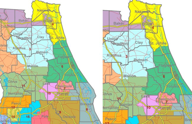 redistricting florida congressional map