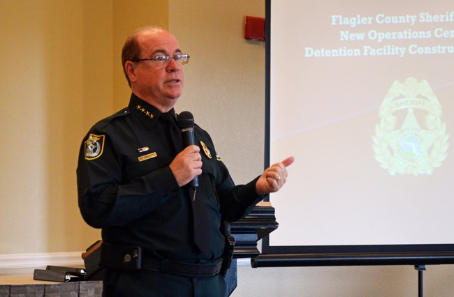 flagler county sheriff jim manfre ethics violations