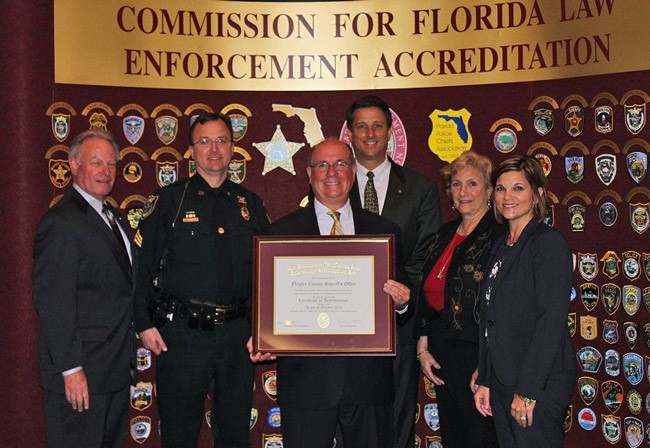 flagler sheriff's office reaccredited