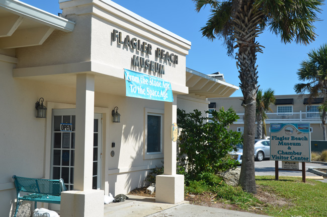 The Flagler Beach Museum is turning into the city's assistance center for residents hard-hit by flooding and lingering power cuts. (c FlaglerLive)