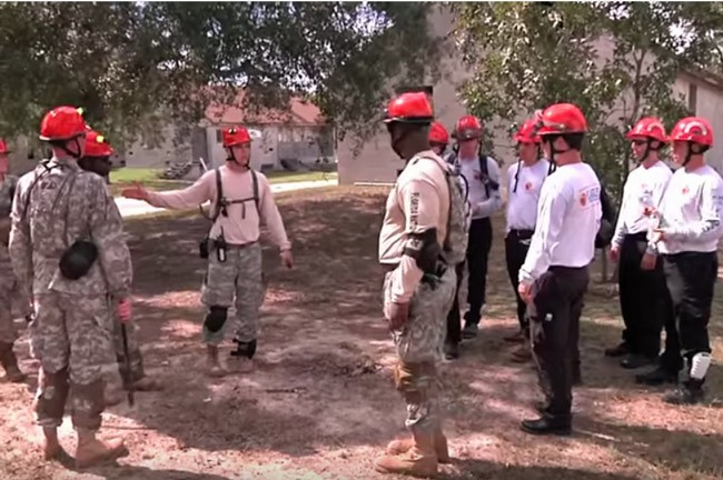 camp blanding search and rescue