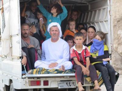 Fleeing ISIS torture