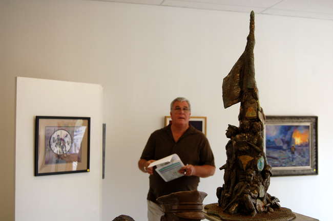 flagler county art league sheriff don fleming 911 heros call show