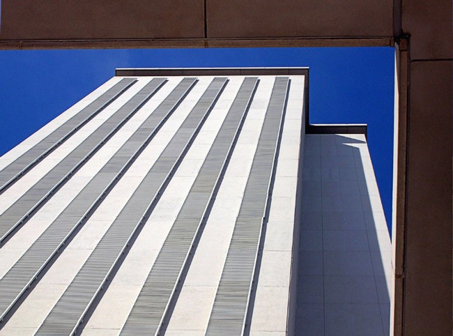 A different perspective on the Florida Capitol, captured by News-Journal columnist Mark Lane.