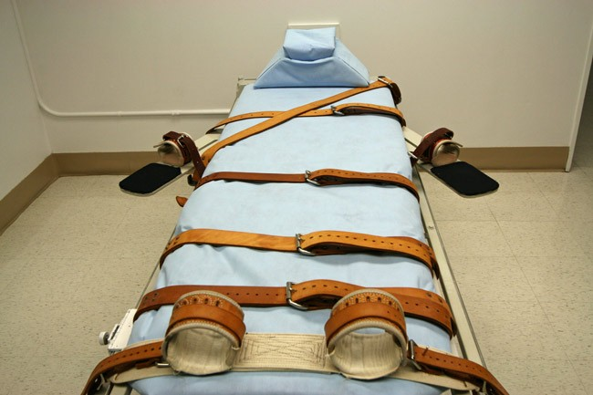 Florida's lethal injection gurney may have a break.  (Florida prisons.)