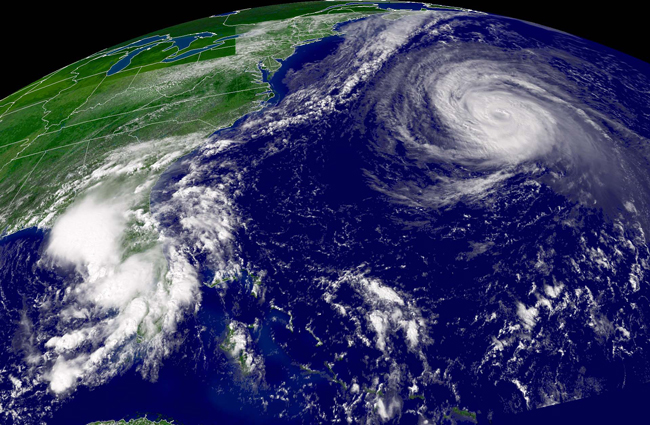 The season's hurricanes showed no interest in visiting Florida. (NOAA)