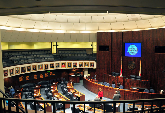 So far the Florida Legislature has been a no-show when it comes to adding protections for gays and lesbians into the state's anti-discrimination laws. (Rebecca Cruz)
