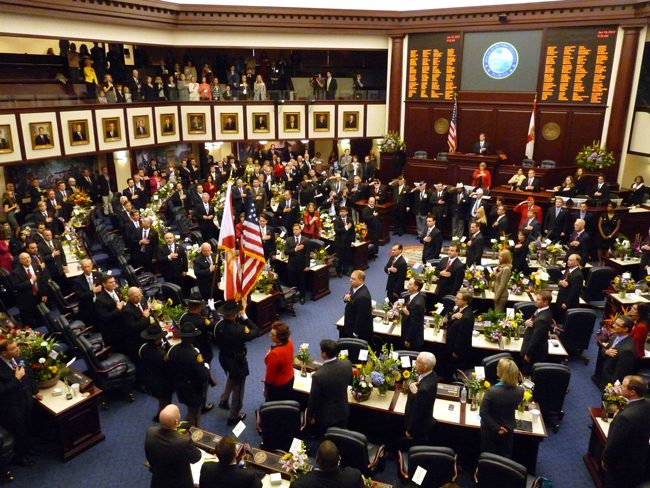 The Florida Legislature begins its 2018 session Tuesday morning.
