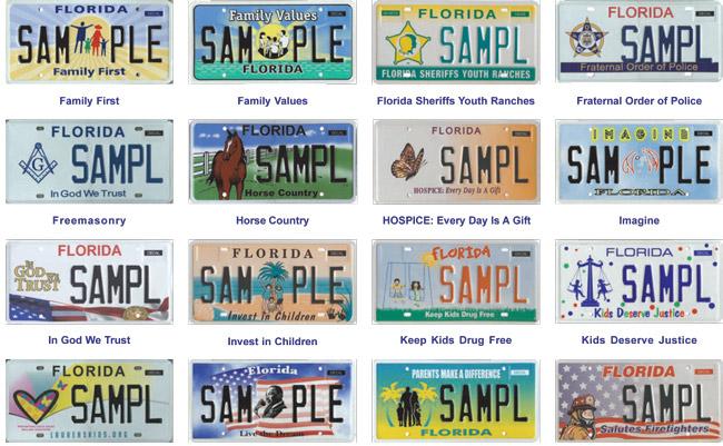 florida license plates