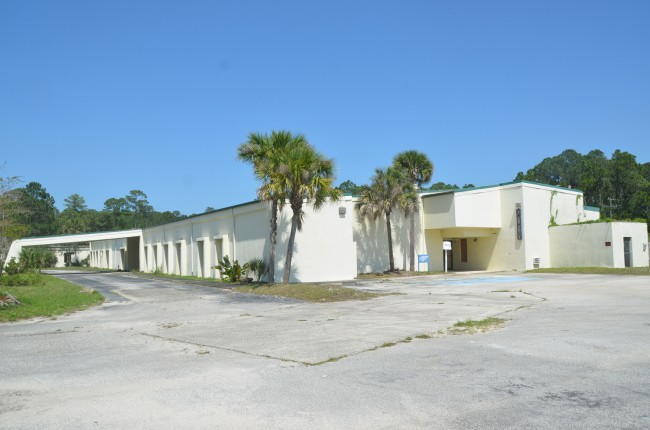 Memorial Hospital Flagler's moribund years may be over if Flagler County and its current owners can agree on a sales deal. The property is listed for sale at $1.75 million. It was acquired in 2006 for $750,000. Its just market value is currently listed at $354,000 by the Flagler County Property Appraiser. Click on the image for larger view. (© FlaglerLive)
