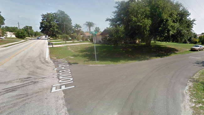 The area of the shots fired at Florida Park Drive and Flynn Way. (Google)