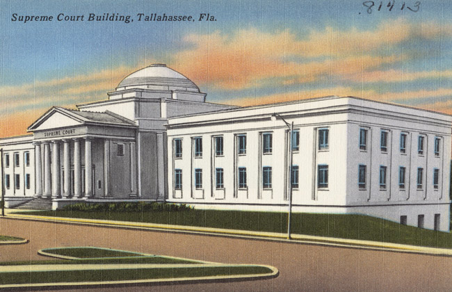 The Florida Supreme Court is going retro.