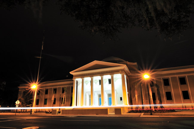 The justices side with the Florida Legislature on 3 percent contributions from public employees' pensions. (Gregory Moine)
